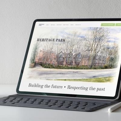 HeritagePark_Website_portfolio
